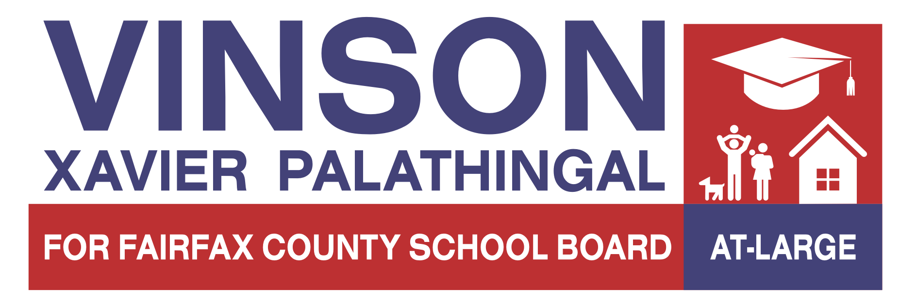 Vinson Xavier Palathingal - Fairfax County School Board Election Candidate 2019